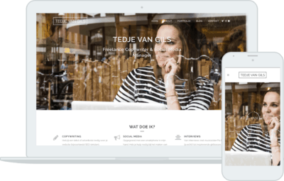 Tedje van Gils website